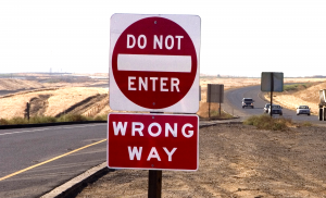 Wrong Way Driver